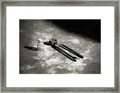 Framed Print featuring the photograph Painless Dentistry by Carl Young