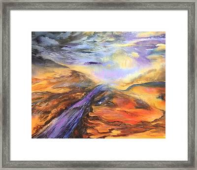 Paint Rock Texas Framed Print