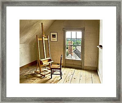 Painters Loft Framed Print