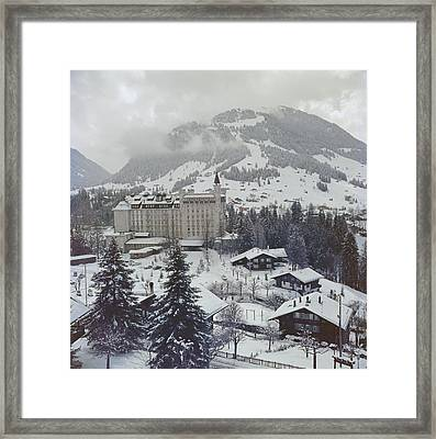 Palace Hotel Framed Print by Slim Aarons