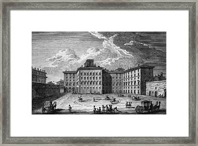 Palazzo Rospigliosi Framed Print by Hulton Archive