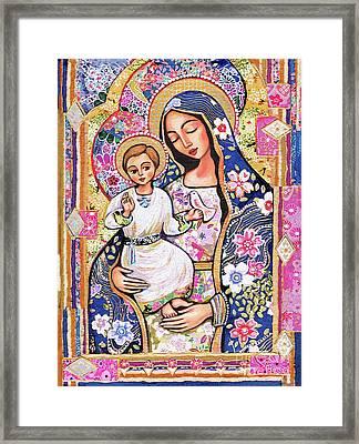 Panagia Eleousa Framed Print