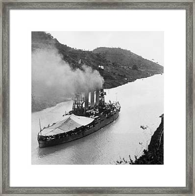 Panama Passage Framed Print by Hulton Archive