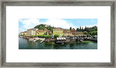 MEZZEGRA Lac Como Italie Panorama Toile Wall Art Imprimé Photo Rose