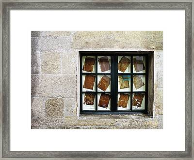 Parchment Panes Framed Print