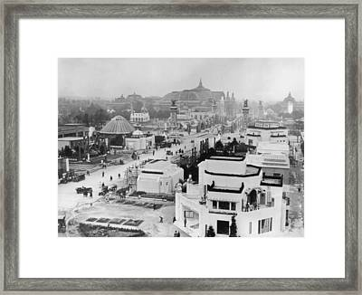 Paris Exhibition Framed Print by Topical Press Agency