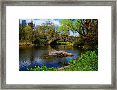Park Bridge2 Framed Print