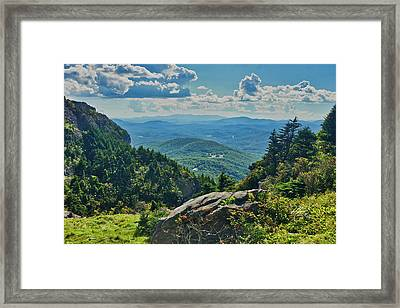 Parkway Overlook Framed Print
