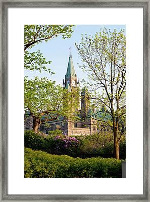 Parliament Buildings Framed Print