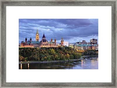 Parliament Hill  Ottawa, Canada Framed Print