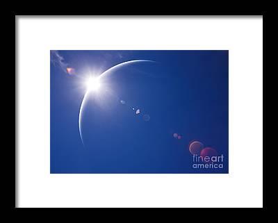 Astrophysical Framed Prints
