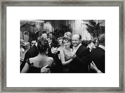 Party At Romanoffs Framed Print by Slim Aarons