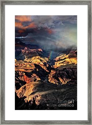 Passing Storm Framed Print