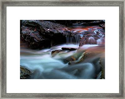 Passion Of Water Framed Print