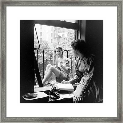 Patchet & Ford Framed Print by Nina Leen