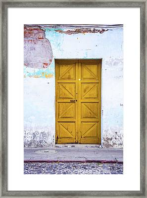 Patina Framed Print