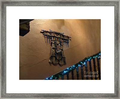 Framed Print featuring the photograph Patzcuaro Wall Hanging by Rosanne Licciardi