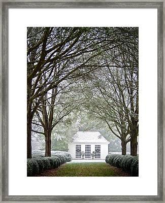 Peaceful Holiday Framed Print