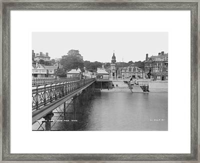Penarth Framed Print by London Stereoscopic Company