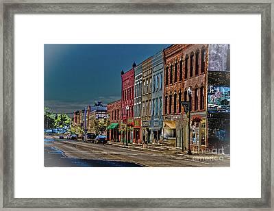 Penn Yan Framed Print