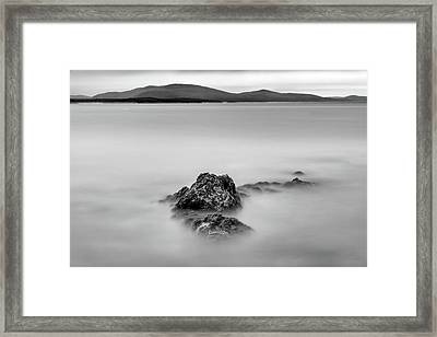 Framed Print featuring the photograph Penobscot Bay Tranquility by Rick Berk