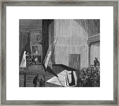 Peppers Ghost Framed Print by Archive Photos