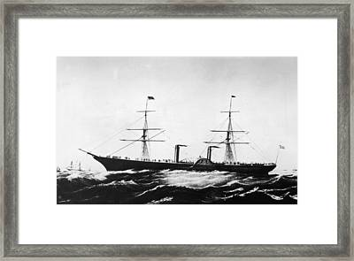Persia Afloat Framed Print by Hulton Archive