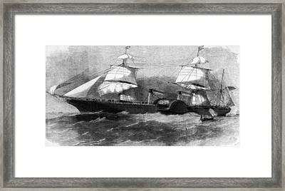 Persia In Full Sail Framed Print by Hulton Archive