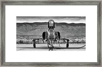 Phantom Phinale Framed Print