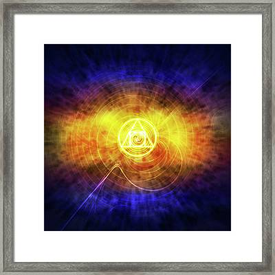 Philosopher's Stone Framed Print