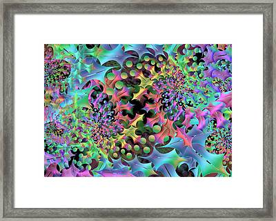 Philosophy Medium Remix Framed Print