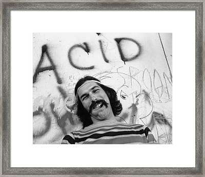 Photo Of Grateful Dead Framed Print by Michael Ochs Archives