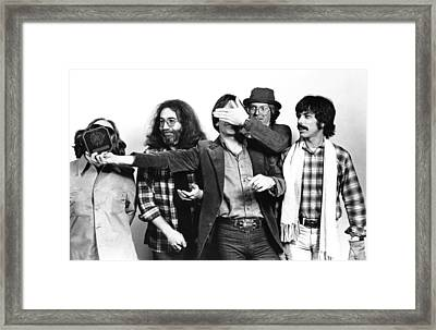 Photo Of Grateful Dead Framed Print