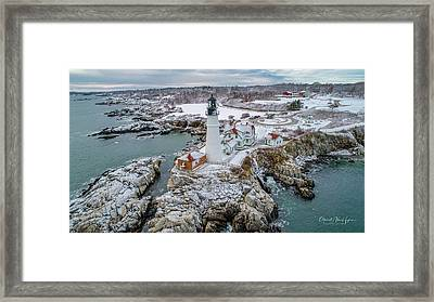 Picturesque Maine  Framed Print