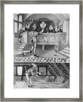 Pied Piper Of Hamelin Framed Print by Hulton Archive