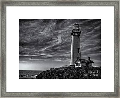 Pigeon Point Light Station Framed Print