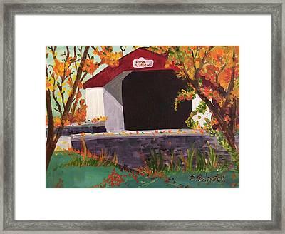 Pine Valley Framed Print