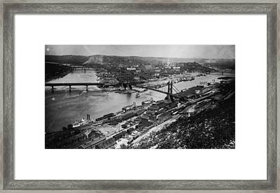 Pittsburgh, Pennsylvania Framed Print by Fotosearch