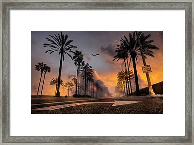 Framed Print featuring the photograph Playa Vista by John Rodrigues