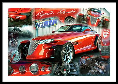 Plymouth Prowler Framed Prints