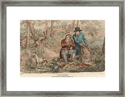 Poaching Framed Print by Hulton Archive
