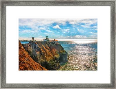 Point Bonita Lighthouse Framed Print by Fernando Margolles