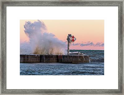 Point Breeze Framed Print