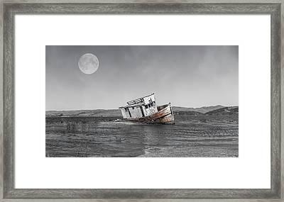 Point Reyes California Shipwreck Framed Print