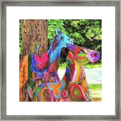 Pony Art   Framed Print