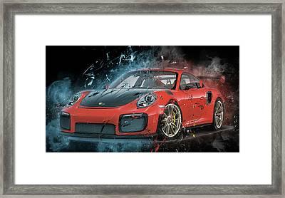 Porsche 911 Gt2 Framed Print