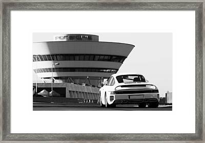 Porsche 959s - 19 Framed Print by Andrea Mazzocchetti