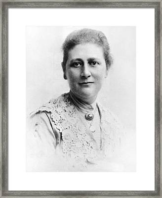Portrait Of Author Beatrix Potter Framed Print by Express Newspapers
