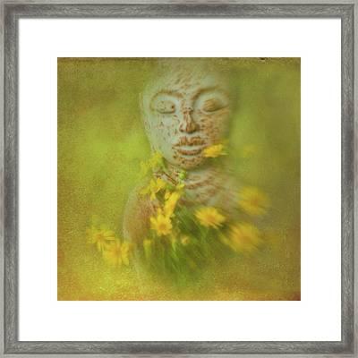 Pray For Peace Framed Print