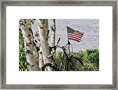 Pride Ride Framed Print